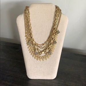 Stella & Dot Sutton Necklace Gold